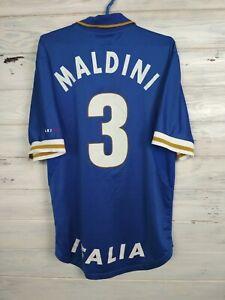 Maldini Italia Italy Jersey 1996 1997 Home S Shirt Mens Maglia Football Nike