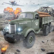 JJRC q60 1/16 Maßstab Fernsteuerung Militärlastwagen Modellbausätze WEIHNACHTSGESCHENK grün