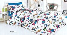 BED LINEN COTTON KING SIZE/BEDDING SET/ COTTON SATEEN 100%MODERN YOUTHFUL