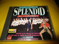 """CD """"LE GRAND ORCHESTRE DU SPLENDID : LES IRRESISTIBLES"""" best of"""