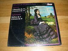 WILHELM KEMPFF brahms schumann LP Record - Sealed