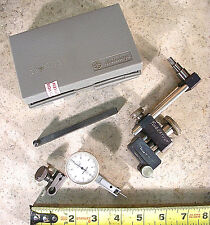 MITUTOYO MODEL No. 513-903 DIAL TEST INDICATOR KIT WITH ZERO-IT SETUP ATTACHMENT