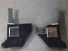 1966 1967 Lincoln Continental black Kick Panels with speakers, Rt. & Left pair