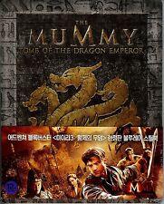 The Mummy: Tomb of the Dragon Emperor Embossed SteelBook (Region Free Korea)