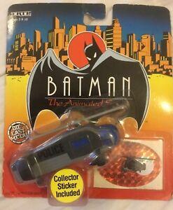 1993 ERTL Batman Die Cast Metal Vehicle - Gotham City Police Helicopter - MOSC