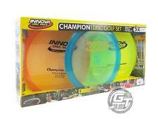 Innova Champion Beginner 3-Disc Golf Set - 1 Driver 1 Midrange 1 Putter