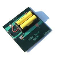 1W 4V Rechargeable AA Battery Solar Cell Charger With Base For 2xAA Batter M1J6