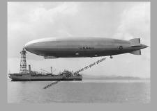 1931 Blimp USS Los Angeles PHOTO ZR-3 Navy Airship Zeppelin Warship USS Patoka