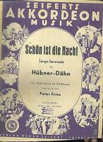 """Hübner-Dähn :  """" Schön ist die Nacht """" Tango-Serenade"""