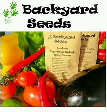 HEIRLOOM Spring/ Summer Vegetable and Herb Seed Mix