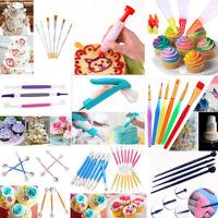 Fondant Cake Sugarcraft Modelling Tools Decorating Pen Flower Baking Mold