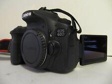 LOW SHUTTER Canon EOS 60D 18.0 Mega Pixel Digital SLR Camera - Black (Body Only)
