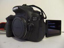 LOW SHUTTER Canon EOS 60D 18.0 Mega Pixel Digital SLR Camera - Black (Body Only)