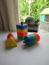🍓 Ancien Cubes Éducatif D'éveil Fisher Price Vintage