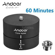 360° Panning Rotating Time Lapse Stabilizer Tripod Mount Adapter for Gopro DSLR
