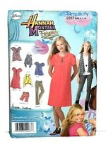 Simplicity 2267 Hannah Montana Forever Sewing Pattern Disney Girls 7-16 Uncut
