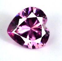 4.20 Ct Pink Sapphire Heart Shape Natural Gemstone Super Sale AGI Certified CH13