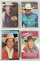 George Strait Cassette Tapes LOT OF 4  Pure Country  Greatest Hits x2  Lead On 1