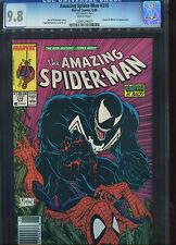 Amazing Spider man #316 CGC 9.8 Mark Jewelers Insert Newsstand UPC Variant