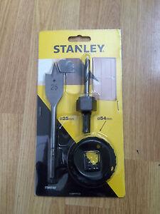 Stanley Holesaw and Flatwood Drill Bit Set STA81187-XJ