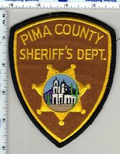 Pima County Sheriff (Arizona) Shoulder Patch - new from 1986-unused