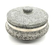 Stone Pot Rice Cooker Sizzling Hot Stone Dolsot Bibimbap 6""