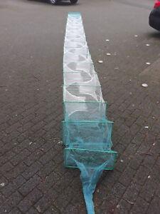 Für Profi Reuse Aalreuse Aal Krebs flusskrebs shrimps 8,5 meter R-50x30cm