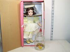 Paradise Galleries Lemon Drop Doll by Phyllis Wright w/ Lemon Drop Jar