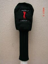 *New Weighted Warm-Up Head Cover/w Securing Strap - #1 Driver  Black      BoxA