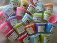 Bulk 100 x 30 hours approx.burn time each soy melt candle. You choose scent.