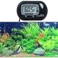 Fish Aquarium Reptile Tank Thermometer Led Digital Water Temperature Meter