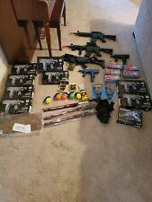 LOT of 14 Airsoft Guns/Rifles --/Pistol/M16/M757/ M30 /props,bbs + Extras !