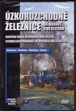 DVD - Czech Moravia Silesia Narrow Gauge Schmalspur - English German 58 minutes