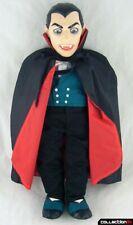 "Count Dracula Doll / 1985 Travelers Trading Co. ""DRAC BAT"" w / Death Certificate"