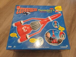Thunderbirds Collectable Large Electronic Thunderbird 3 Mint in Box Sealed 1990s