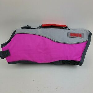 "Kong Sport Aqua Pro Dog Flotation Vest XS: 16-20"" 11-18 lbs Pinkish Purple/Gray"