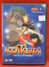 InuYasha The Way to Wisdom Vol.19 Dvd Pre-Viewed Clean Disc Anime Viz Video 1628