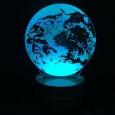 EARTH 3D Led Lamp, Night light, Multi colour, remote control