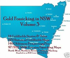 CD-  Gold - NSW Forest Fossicking Vol.3 - 97+ eBooks & Maps (Resell Rights)