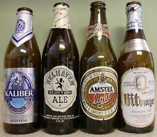 Vintage Beer Bottle Lot ~ Bitburger  ~ Belhaven ~ Kaliber ~ Amstel Light