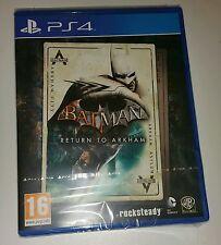 Batman: retour à arkham PS4 neuf scellé uk pal version jeu Sony PlayStation 4