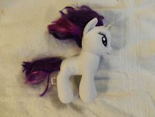 "Lot # 977 My Little Pony Unicorn ""Rarity"" 7 1/2 Inch (2014) plush animal from Ty"