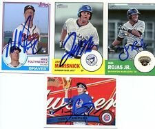 MEL ROJAS JR SIGNED 2012 TOPPS HERITAGE MINORS ROOKIE CARD AUTO