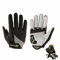 ROCKBROS Full Finger Cycling Outdoor Gloves Touch Screen Phone Gloves Black XXL
