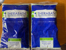 Lot 2 Packages Therabath Paraffin Wax Beads 1lb Refill Eucalyptus Mint 2lbs