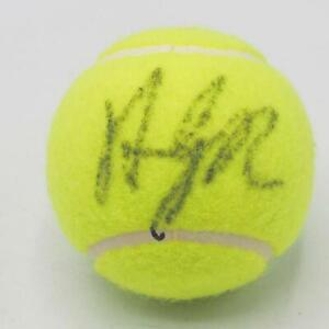 Tennis Andy Roddick Hand-Signed Autographed Wilson Tennis Ball