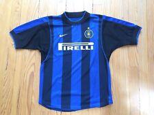 Inter Milan Football Soccer Shirt Jersey Maillot 2000/2001(Official replica)