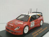 1/43 CITROEN XSARA WRC LOEB DEUTSCHLAND 2002 IXO RALLY CAR COCHE ESCALA DIECAST