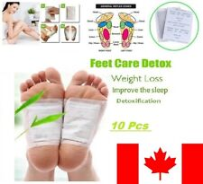 10 Pads Detox Foot Pads Patches Detoxify Toxins Adhesive Keeping Fit Health Care