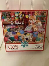Buffalo Games 750 Piece Puzzle CATS CROCHET KITTENS - NEW